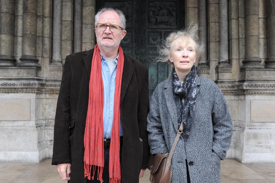 "Jim Broadbent and Lindsay Duncan in ""Le Week-End,"" which opens in the Boston area on Friday."