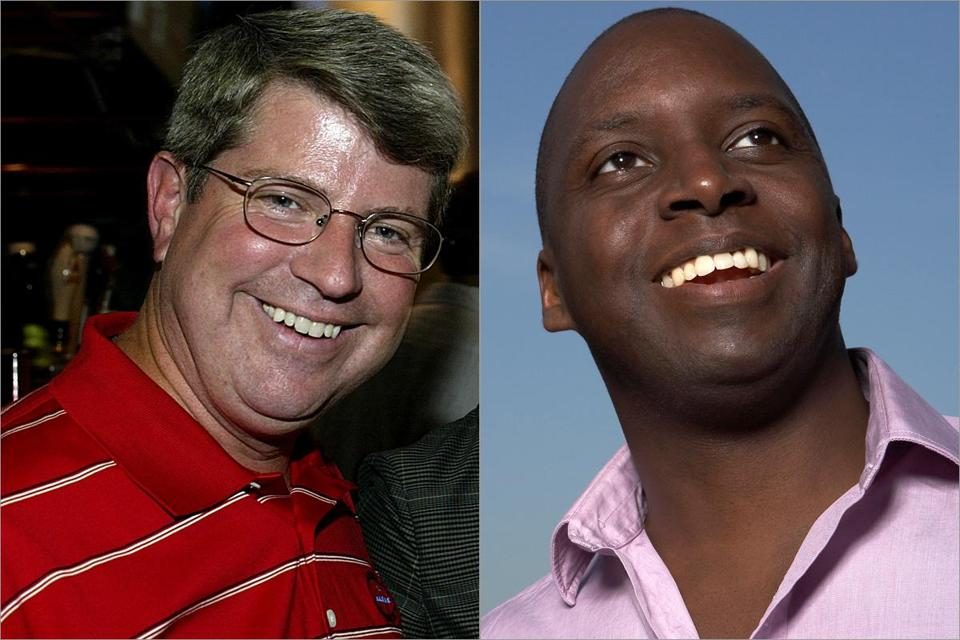 Dale Arnold (left) and Michael Holley will reunite in afternoon drive for the next several weeks — and perhaps beyond.
