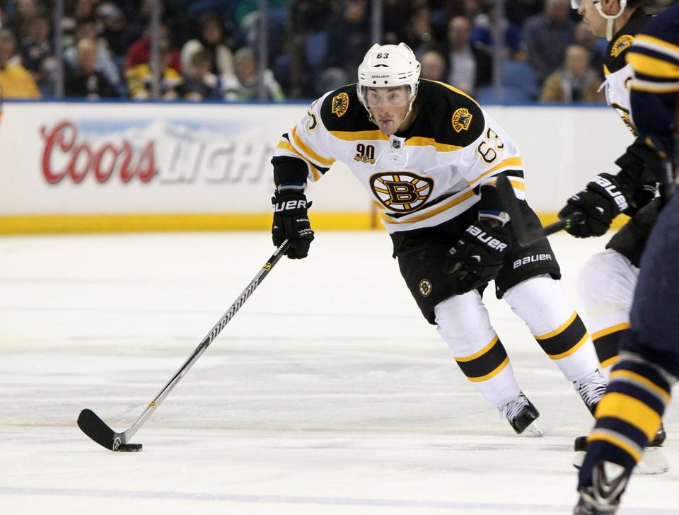 Brad Marchand's reputation may be part of the reason why he doesn't draw penalties, a former NHL referee said.