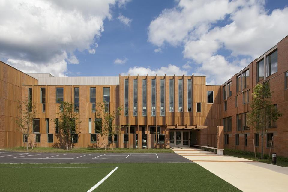 The Wellington Elementary School In Belmont, By Boston Architect Jonathan  Levi, Who Recently Won