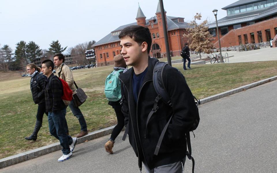 Sophomore Daniel Caballero of Chattanooga, Tenn., is working his way through Wesleyan on the three-year plan.