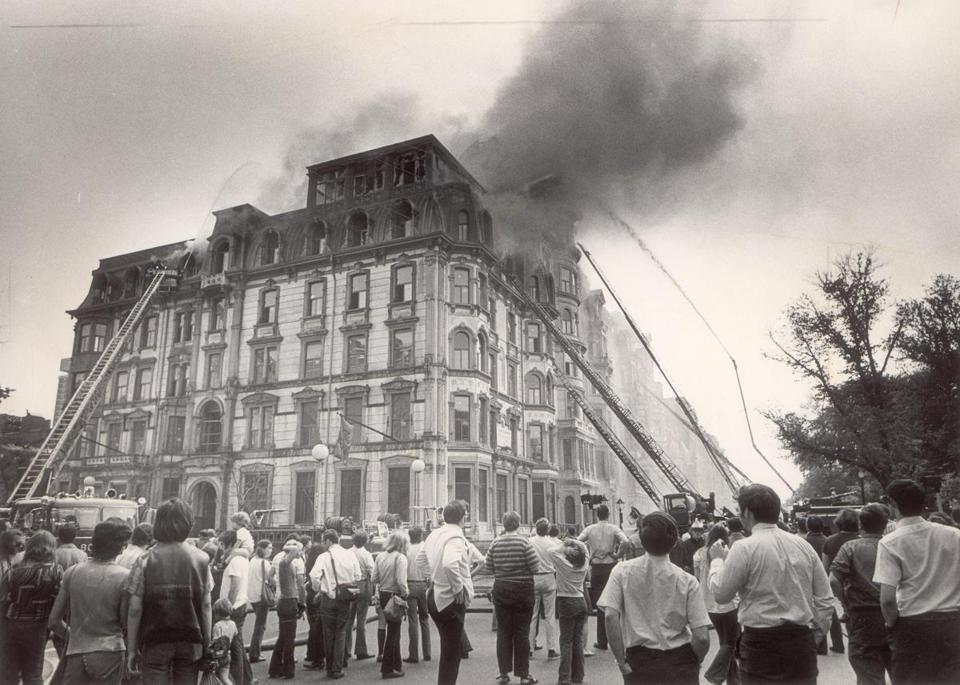 The Hotel Vendome Fire In Boston Killed Nine Firefighters 1972