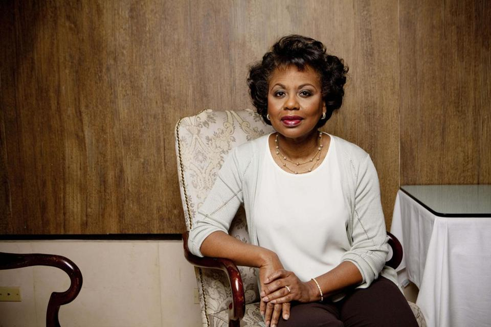 Anita Hill.  Elizabeth Lippman Photo/The Boston Globe