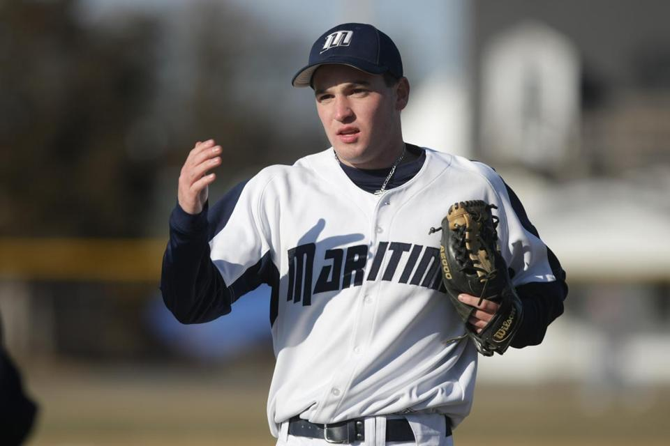 Mass. Maritime pitcher Zac Cooney is 4-0.
