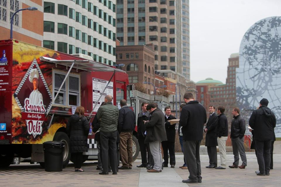 Revenue from food truck leases helps the Greenway, but more could be done.