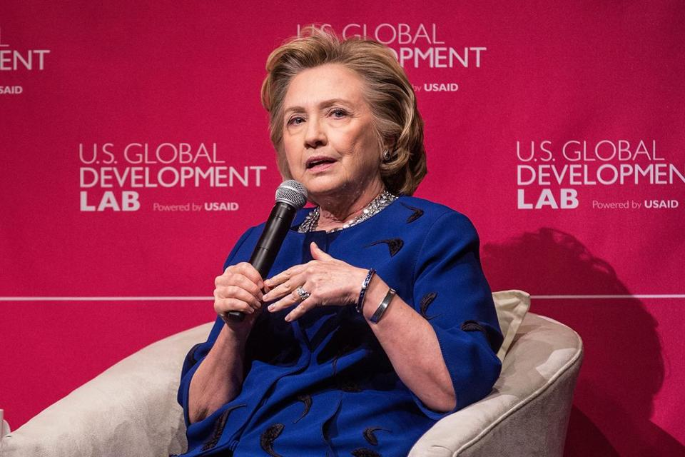 Hillary Clinton, who has not disclosed her future political plans, is scheduled to deliver the keynote address at the Simmons Leadership Conference.