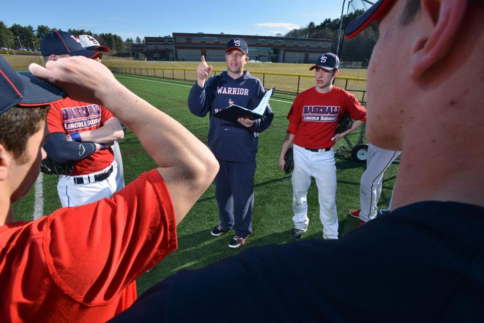 Lincoln-Sudbury Regional High coach Kirk Fredericks, in addition to working with his team, has helped create a Super 8 baseball tourney that starts a two-year trial this spring.