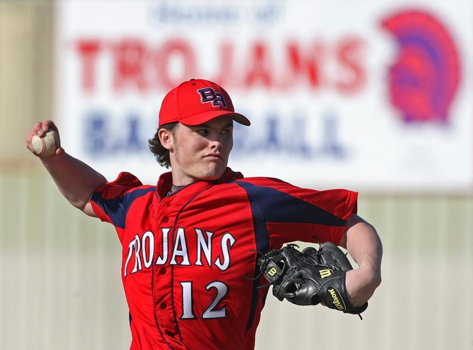 Bridgewater-Raynham pitcher Jack Connolly is hoping for a Super 8 title.
