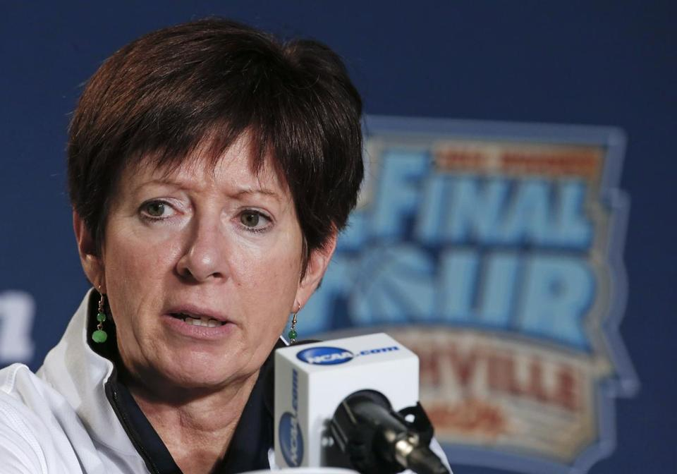 Notre Dame coach Muffet McGraw said there's tension in her relationship with UConn.
