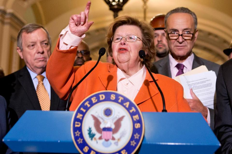 """I want everyone to know, everyone in the Senate and everyone in the United States of America, though we lost the vote, we refuse to lose the battle. We are going to continue the fight,'' said Senator Barbara Mikulski."