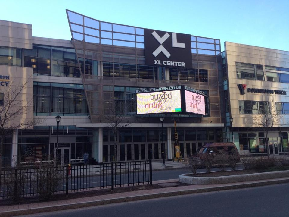 Known as the Hartford Civic Center when the Whalers played there, the building is now known as the XL Center.