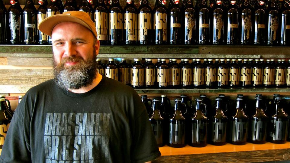 Nigel Springthorpe, an English emigré, took over the Alibi Room bar in Vancouver and  introduced craft beers before deciding to partner with a brewmaster in his own brewery.