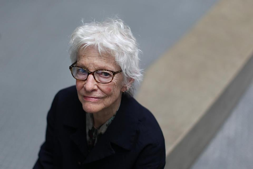 An acclaimed pioneer of video and performance art, Joan Jonas, 77, is a professor emerita at MIT.