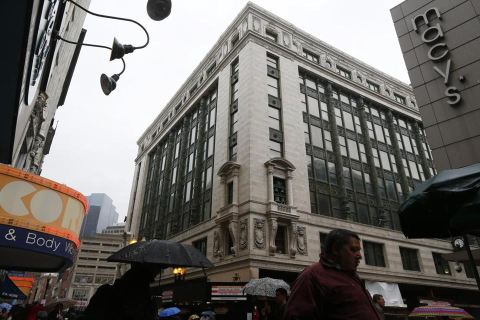 Primark plans to open a 70,000-square-foot store late in 2015 at a location once occupied by Filene's in Downtown Crossing.