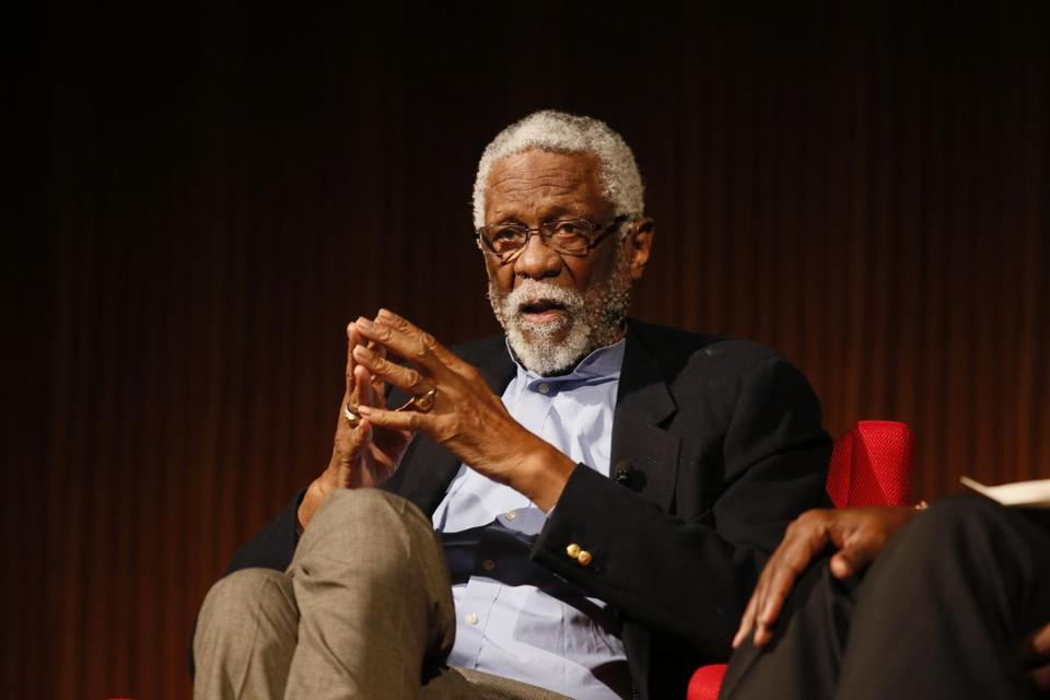 Former Celtics player-coach Bill Russell.