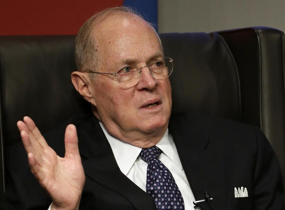 Supreme Court Justice Anthony Kennedy wrote the majority decision in the case.