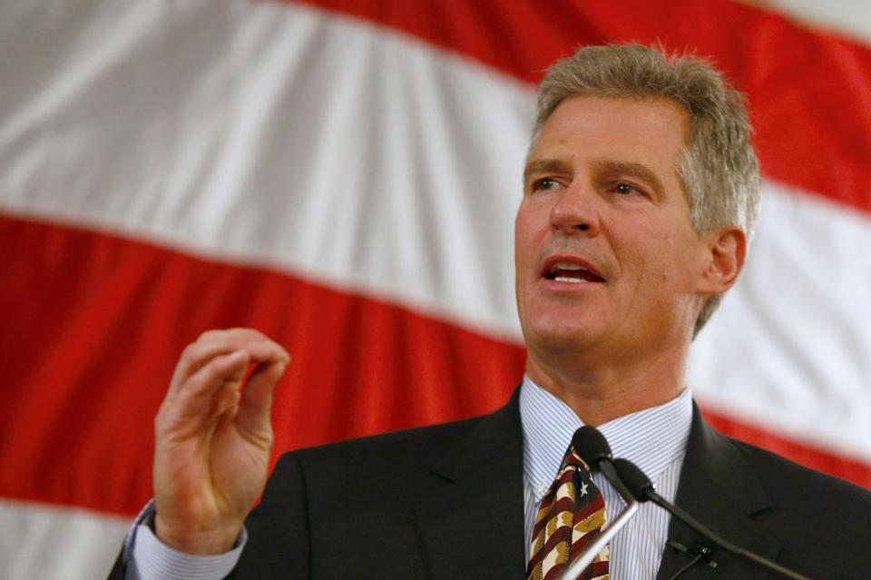 Scott Brown, in his campaign to represent New Hampshire in the Senate, says that the state's health care plan can be similar to Obama's plan, including expanding Medicaid.