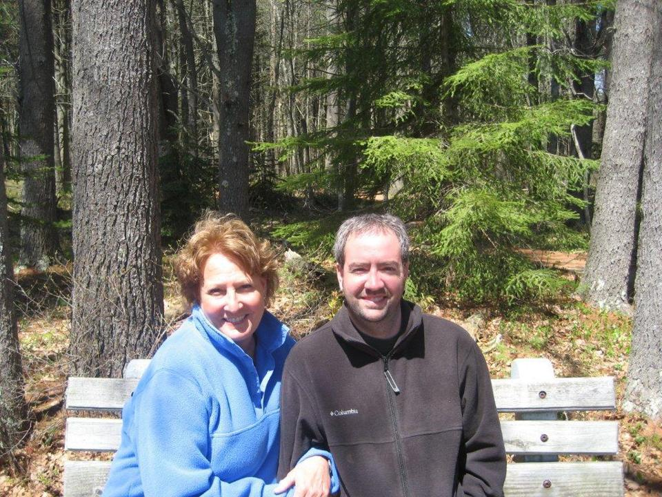 Spencer Bean and his mother, Jean Bearor, in 2008.