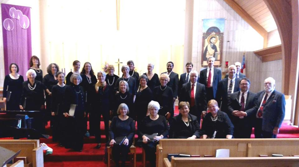 The Choral Art Society of the South Shore will perform Sunday in Hingham.