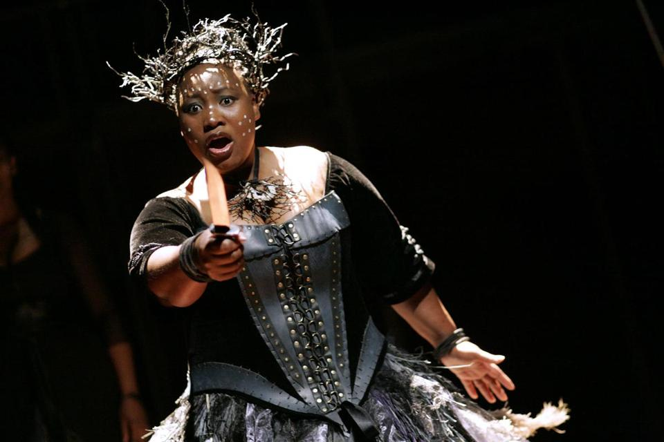 "Pauline Malefane, a member of Isango Ensemble, which will present ""The Magic Flute"" at the Cutler Majestic Nov. 4-9."
