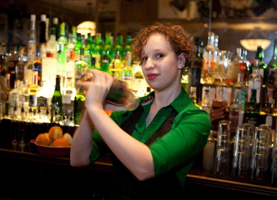 Eastern Standard assistant bar manager Naomi Levy.
