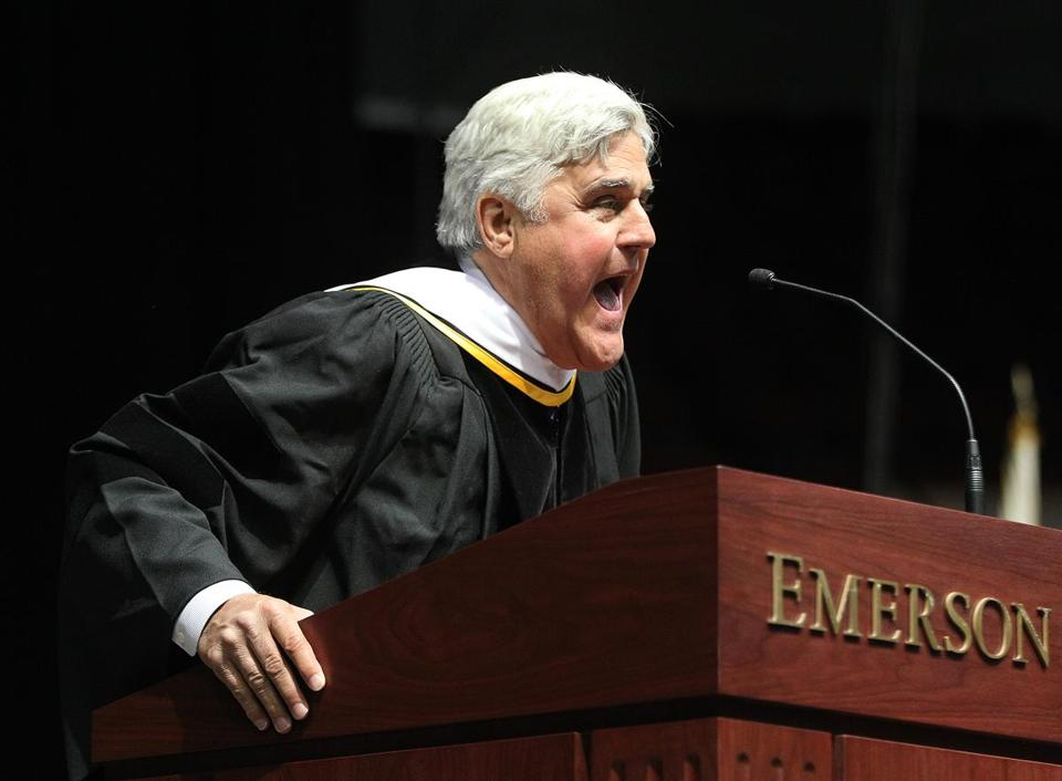 Jay Leno is just one of the famous comedians to graduate from Emerson College.