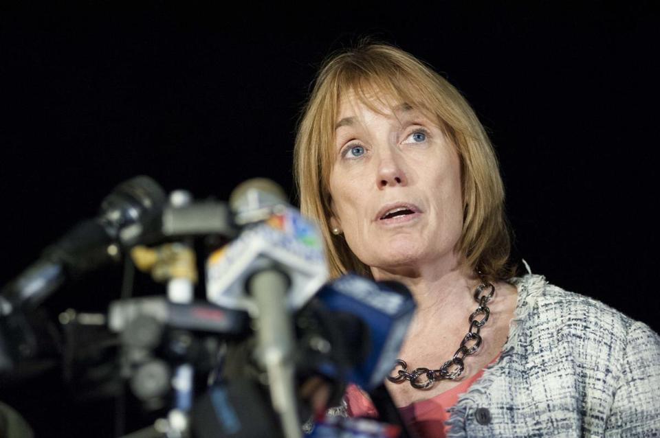 New Hampshire Governor Maggie Hassan.