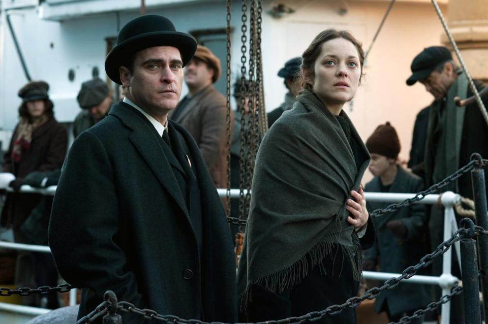 "Joaquin Phoenix and Marion Cotillard star in James Gray's ""The Immigrant."""