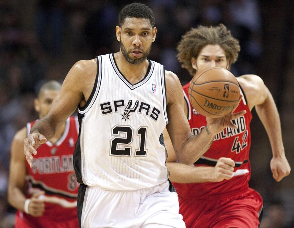 In the 1997 draft lottery, the Celtics missed out on Tim Duncan, who has gone on to lead the Spurs to four NBA titles.