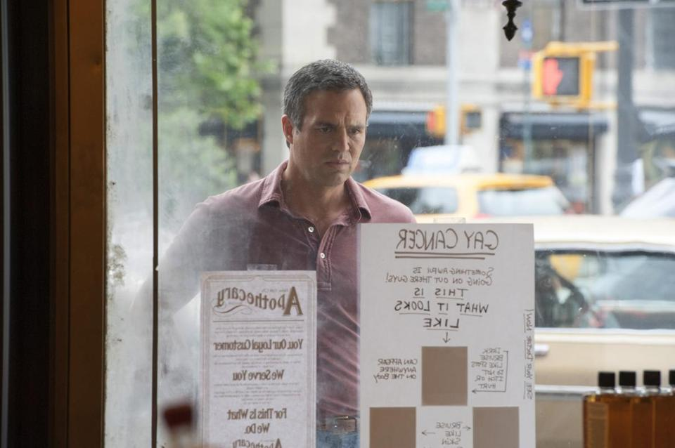 "Mark Ruffalo stars as one of the cofounders of the Gay Men's Health Crisis in HBO's ""The Normal Heart."""