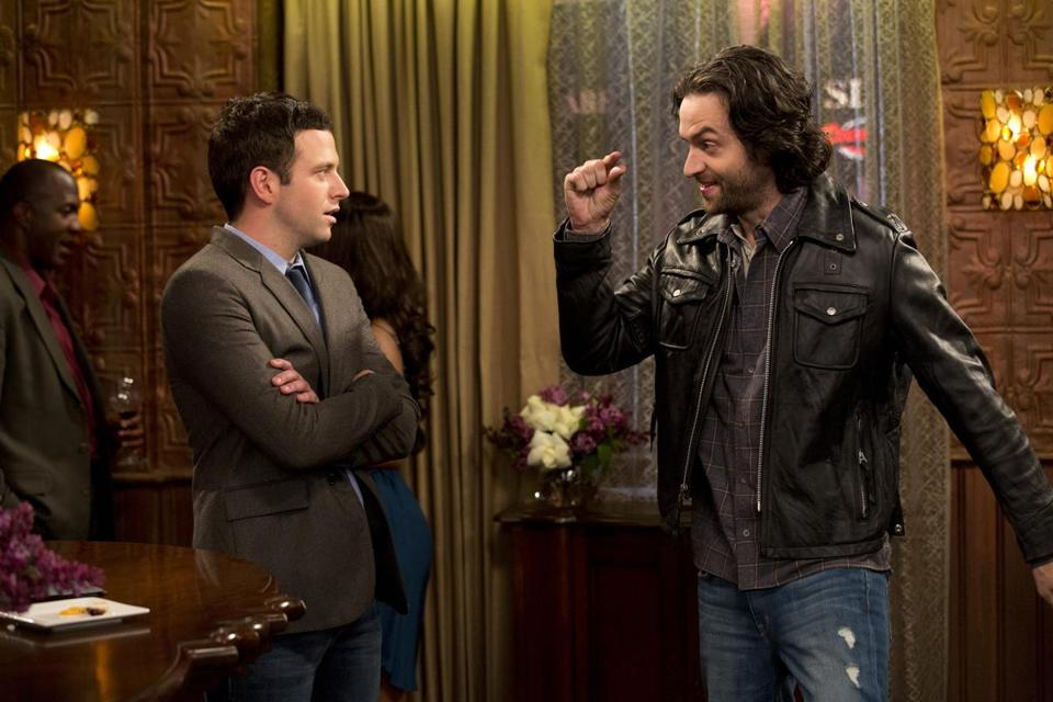 "Brent Morin (left) and Chris D'Elia star as ""Odd Couple""-style roommates on the new NBC sitcom ""Undateable."""