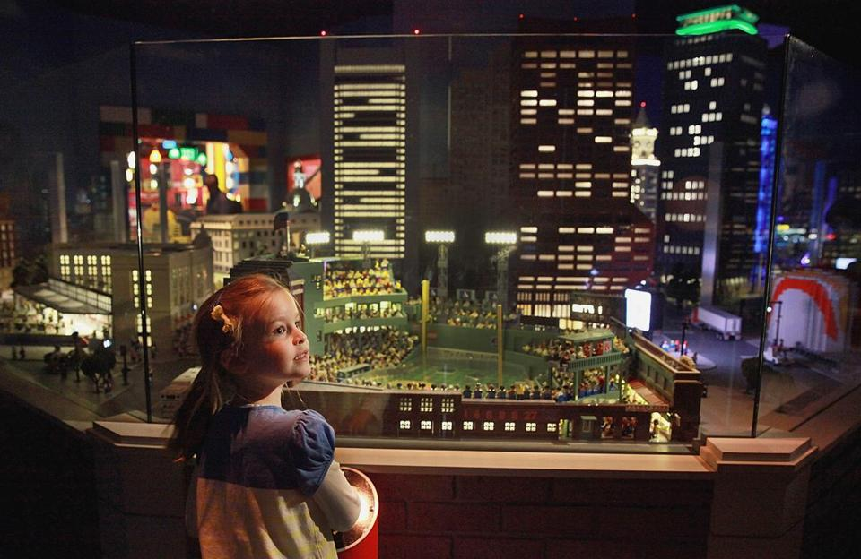 Legoland in Somerville opens with fanfare, rides, and many small ...