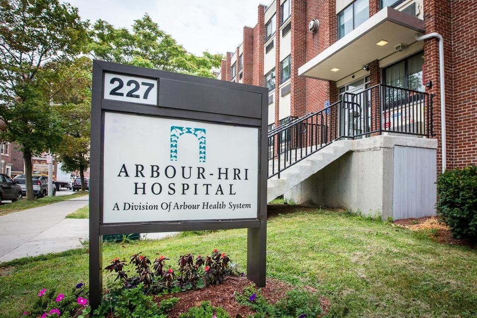 08/31/2013 BROOKLINE, MA Arbour-HRI Hospital (cq) in Brookline.. (Aram Boghosian for The Boston Globe)