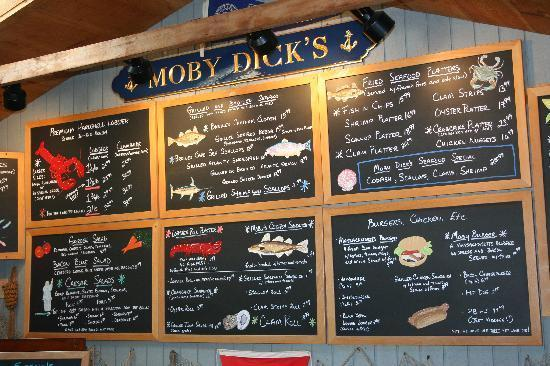Moby S Restaurant In Wellfleet