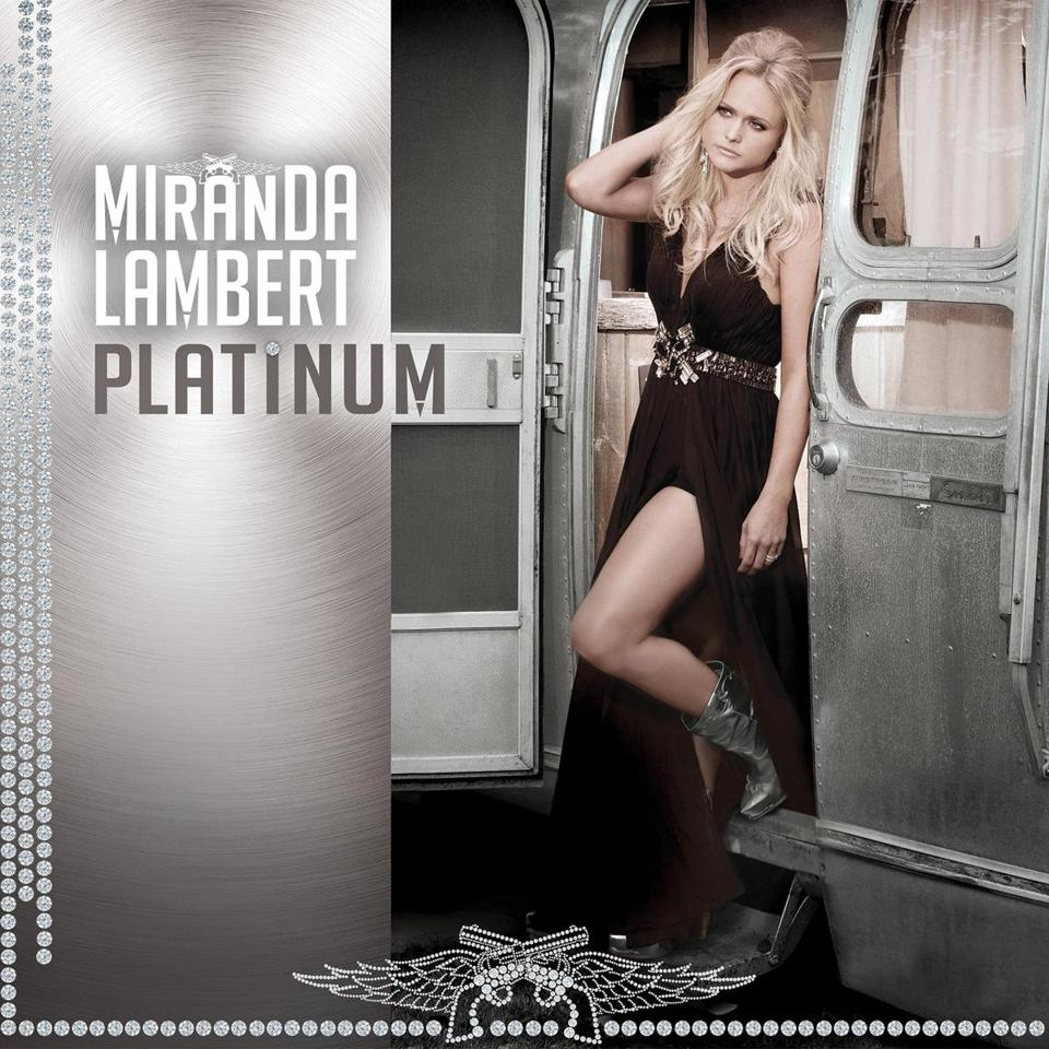 "This CD cover image released by RCA Nashville shows ""Platinum,"" by Miranda Lambert. (AP Photo/RCA Nashville)"