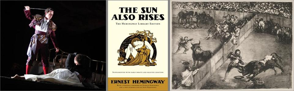 the symbol of bullfighting in the sun also rises by ernest hemingway