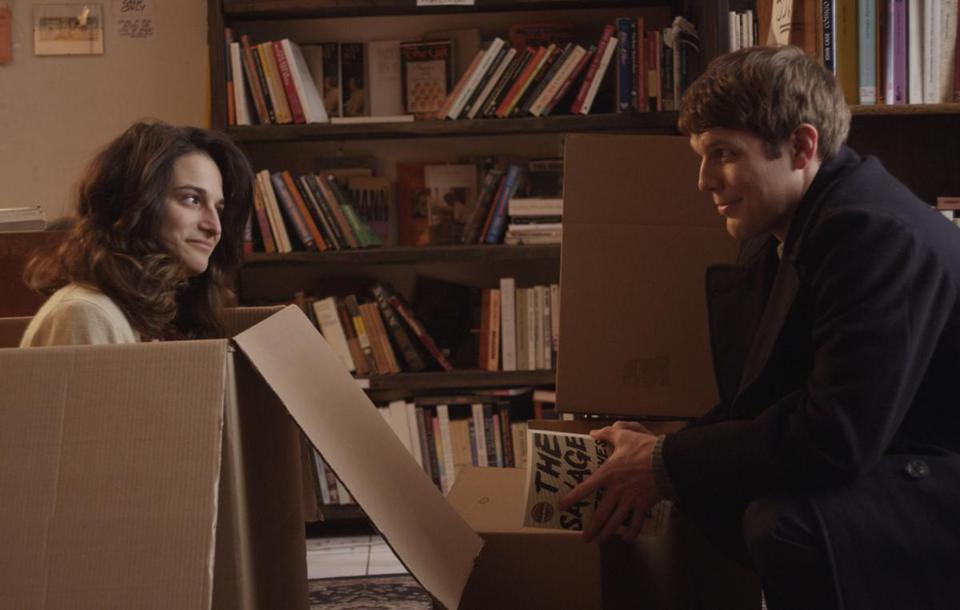 """Obvious Child"" stars Jenny Slate (with Jake Lacy) as a penniless stand-up comic whose one-night stand with a goodhearted preppie results in her pregnancy."