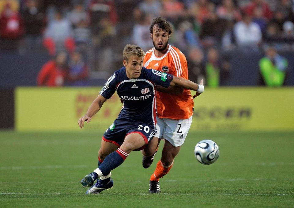 Taylor Twellman (20) scored a team-record 101 goals for the New England Revolution.