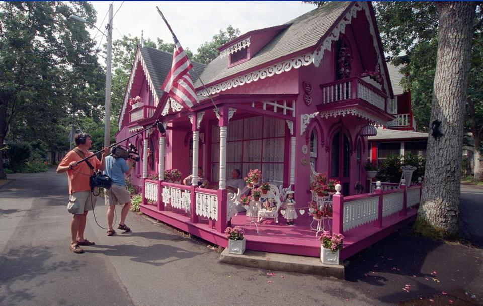 Perfect day trips to marthas vineyard and nantucket the boston globe the pink house is supposedly the most photographed of the gingerbread houses on the publicscrutiny Images