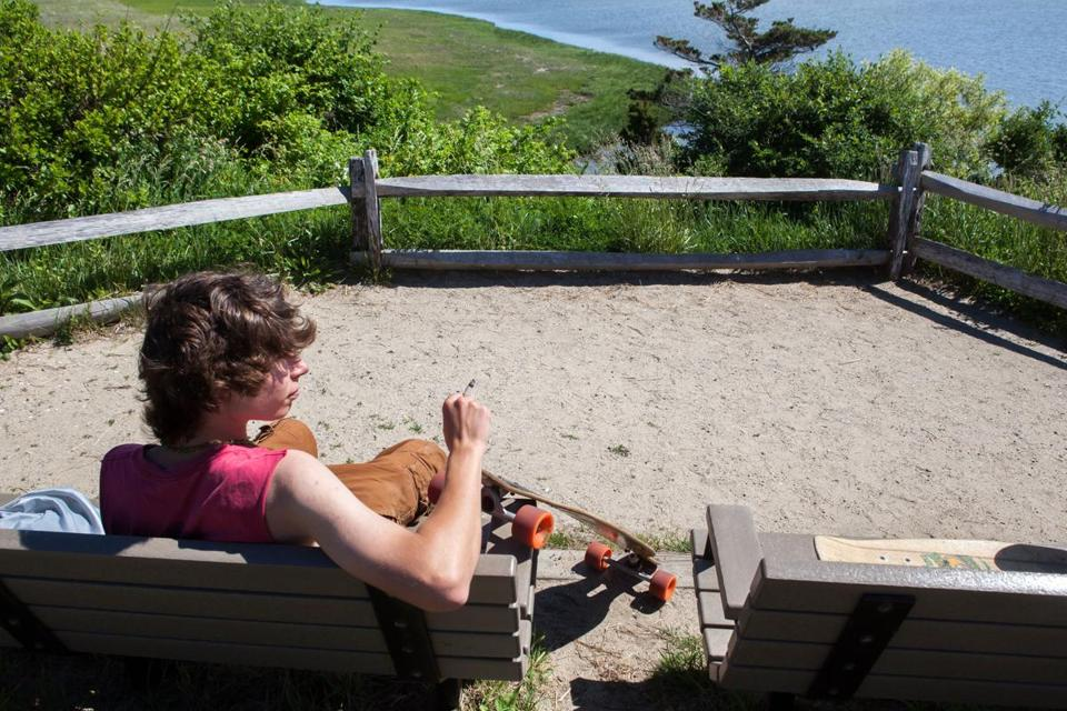 """I don't need another excuse to smoke a cigarette,"" said Ulrik Winslow, 18, of Orleans, who said he supports the National Seashore's upcoming restrictions on smoking on the park's six beaches."