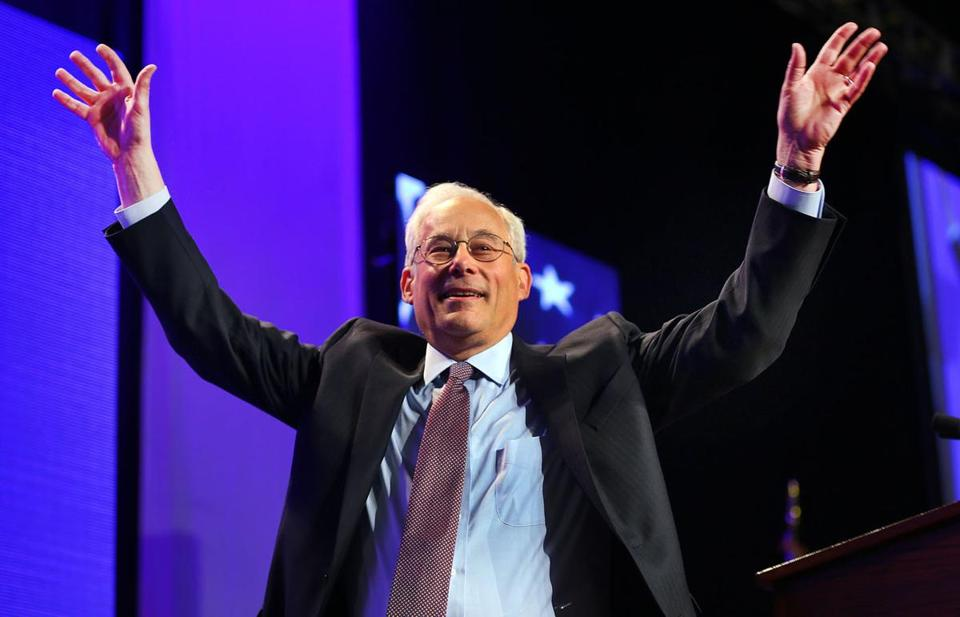 Candidate for governor Don Berwick.