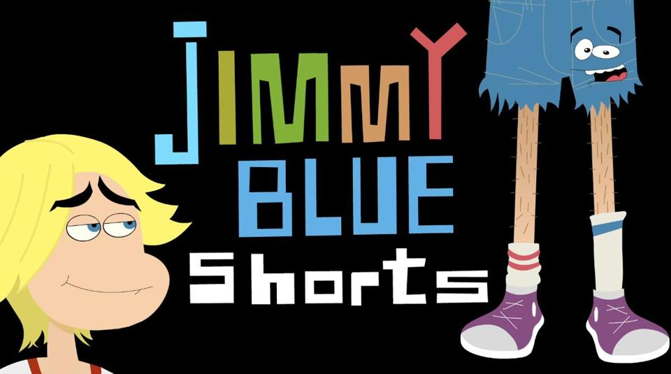 ''Jimmy Blue Shorts'' is one of  more than a dozen new shows that DreamWorks TV will introduce in the YouTube channel's first few weeks.