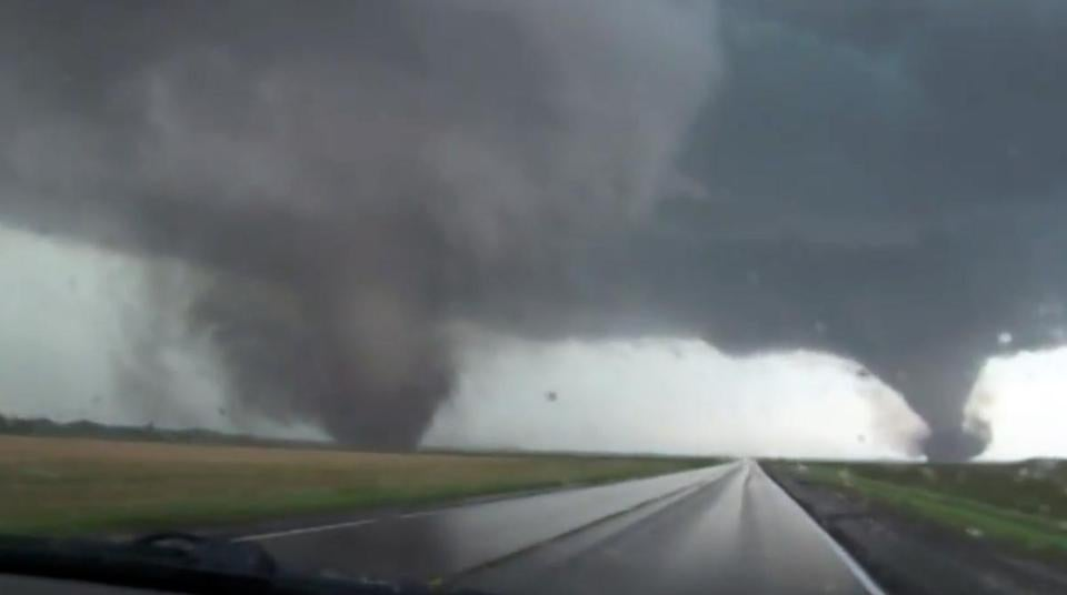 Pilger Neb Flattened By Rare Dual Tornadoes 2 Dead The Boston Globe