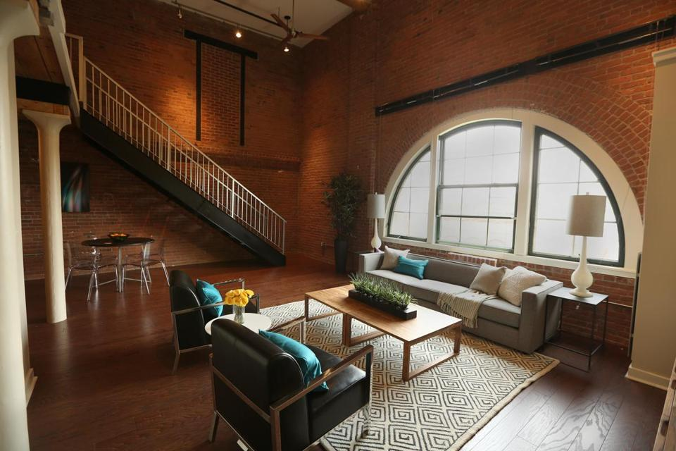 This Condo In A Former Chocolate Factory Has High Ceilings Red Brick Walls