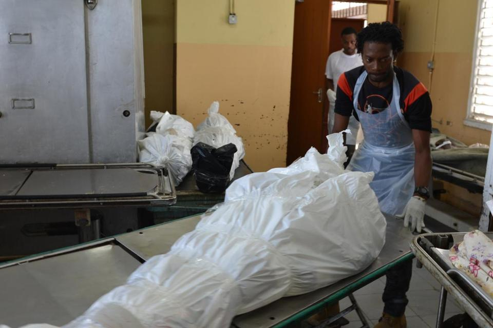 With Murder Common Jamaica Morgue Plans Stall The
