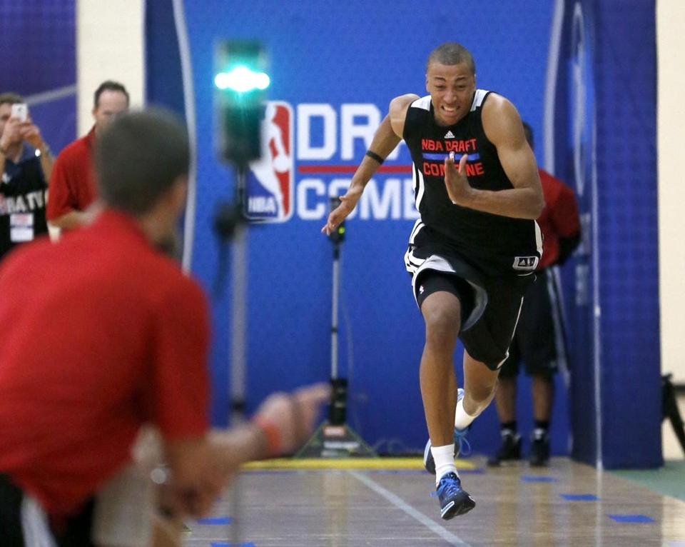 Australian Dante Exum is expected to be a lottery pick in Thursday's draft.