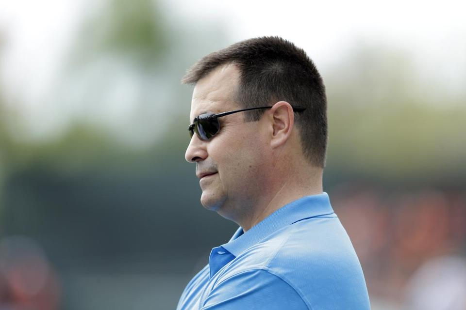 Dan Duquette, fired by the Red Sox in 2002, has found a new home in Baltimore.