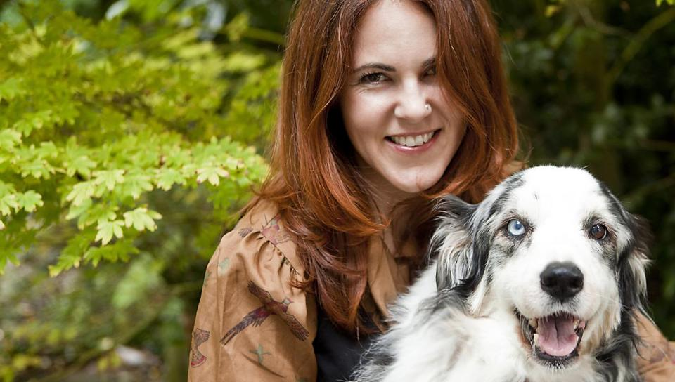"Laurel Braitman (with Alf, who suffered from canine Alzheimer's) is the author of ""Animal Madness: How Anxious Dogs, Compulsive Parrots, and Elephants in Recovery Help Us Understand Ourselves."""