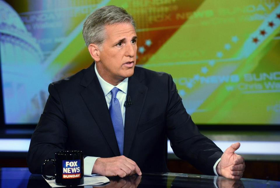 Kevin McCarthy will be House majority leader.
