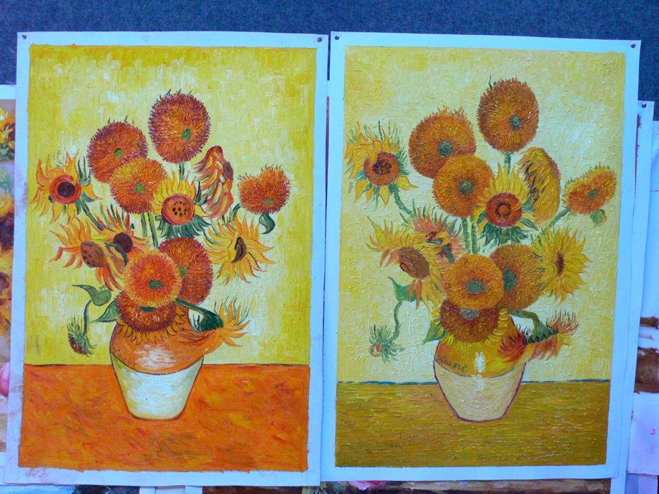How To Paint Van Goghs Sunflowers In 20 Steps The Boston Globe